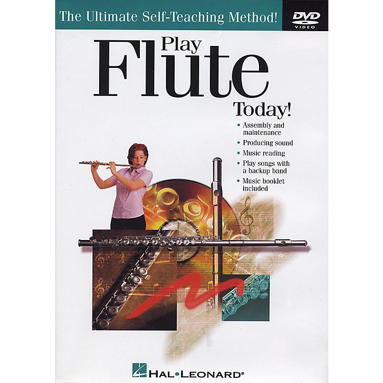 Hal Leonard Play Flute Today! DVD