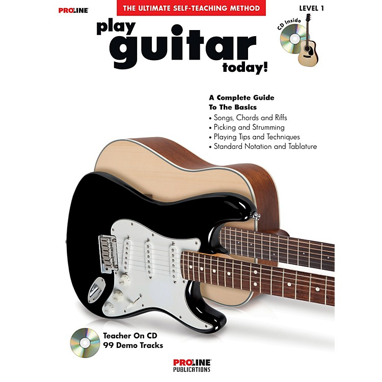 ProLine Play Guitar Today! (Book/CD)