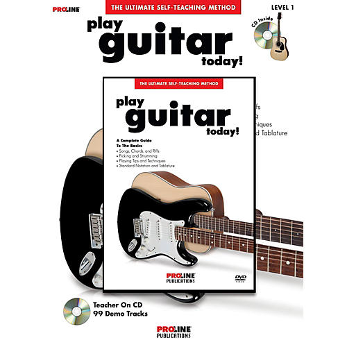 ProLine Play Guitar Today! (Book/DVD Pack)