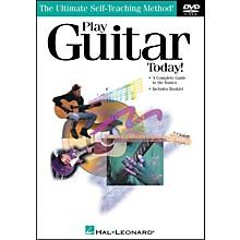 Hal Leonard Play Guitar Today! DVD