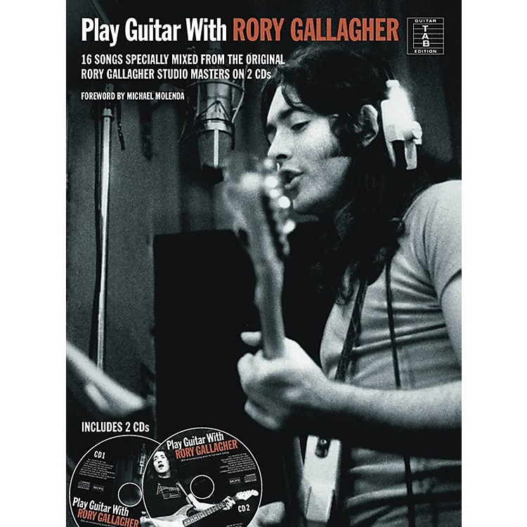 Music Sales Play Guitar With Rory Gallagher Book/2CD's