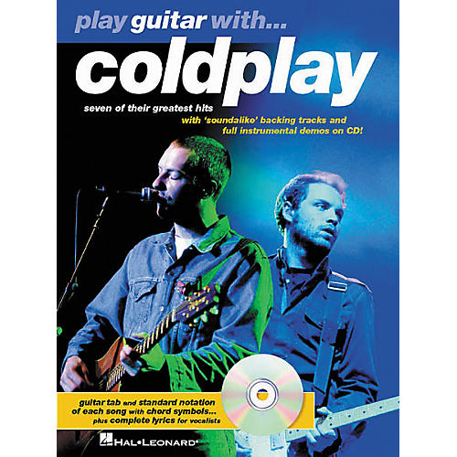 Hal Leonard Play Guitar with Coldplay Guitar Tab Book