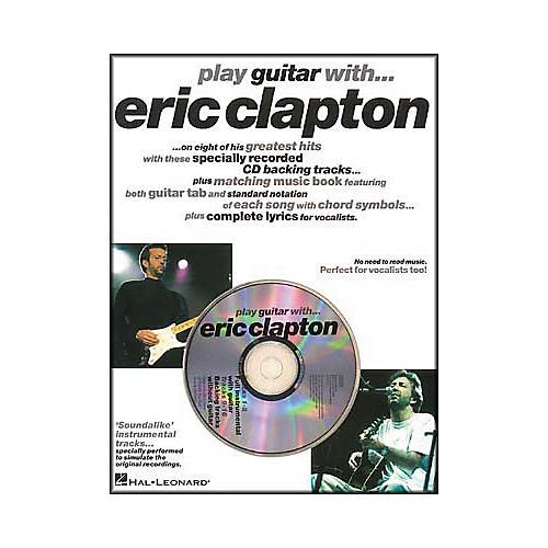 Hal Leonard Play Guitar with Eric Clapton (Book/CD)-thumbnail