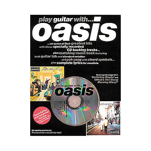 Hal Leonard Play Guitar with Oasis (Book/CD)-thumbnail