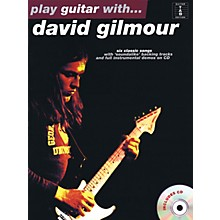 Music Sales Play Guitar with...David Gilmour Music Sales America Series Softcover with CD Performed by David Gilmour