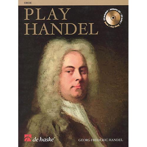 De Haske Music Play Handel (Oboe) De Haske Play-Along Book Series-thumbnail