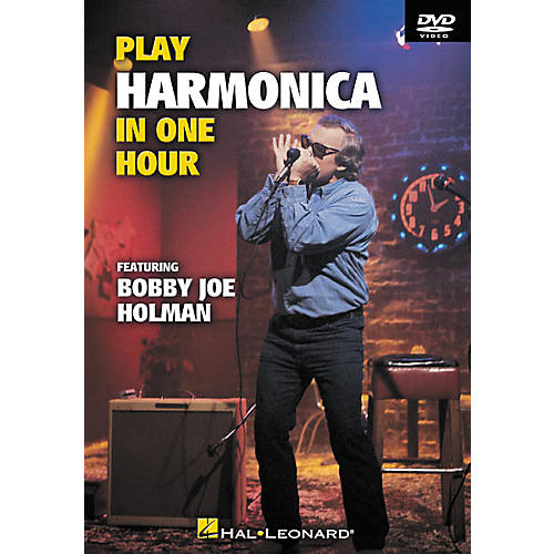 Hal Leonard Play Harmonica In One Hour (DVD)