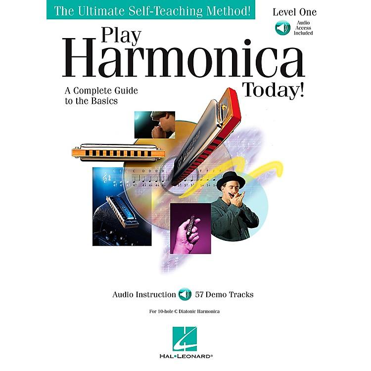 Hal LeonardPlay Harmonica Today! Level One Book/CD