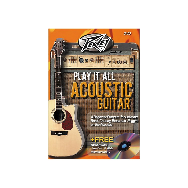 Rock HousePlay It All Acoustic Guitar (DVD)