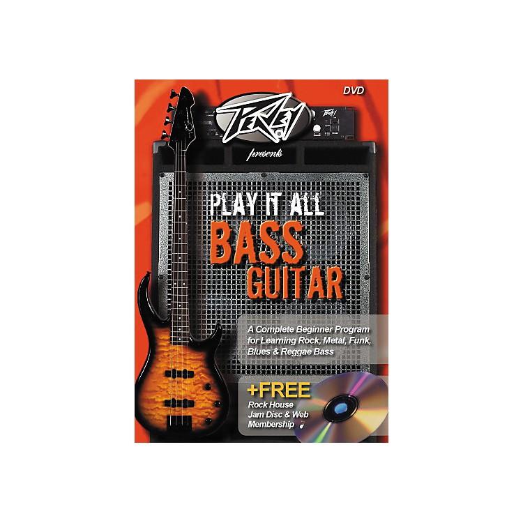 Rock HousePlay It All Bass Guitar (DVD)