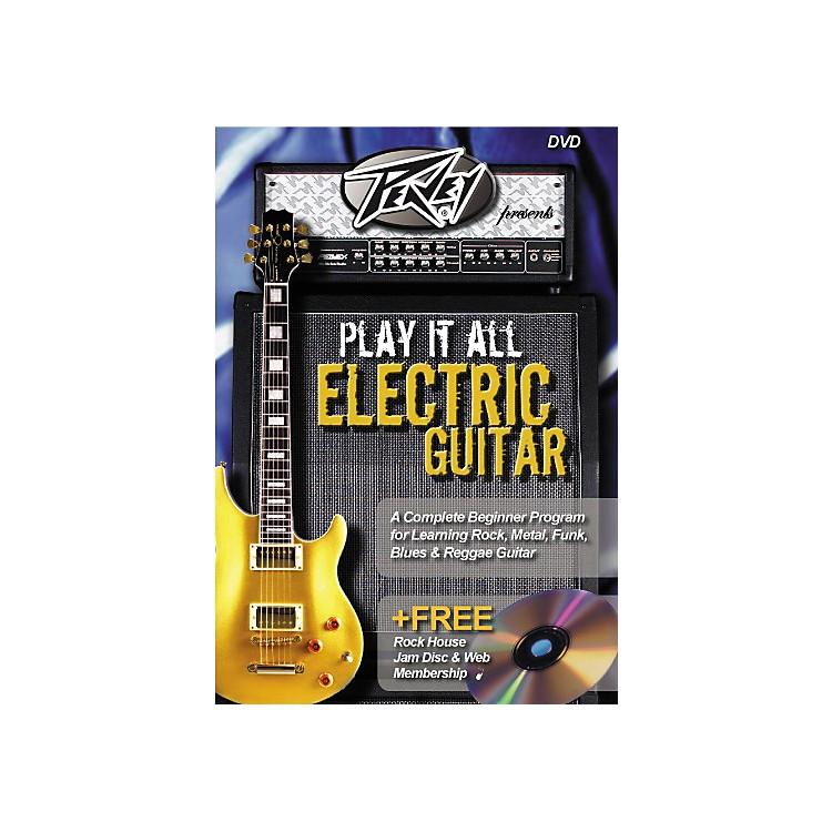 Rock House Play It All Electric Guitar (DVD)