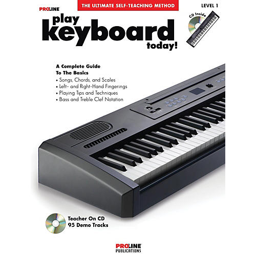 Proline Play Keyboard Today! (Book/CD)-thumbnail