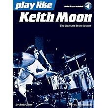 Hal Leonard Play Like Keith Moon - Book/Audio Online