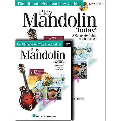 Hal Leonard Play Mandolin Today! Beginner's Pack - (Book/CD/DVD)-thumbnail