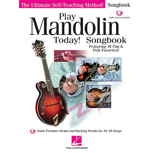 Hal Leonard Play Mandolin Today! Songbook Play Today Instructional Series Series Softcover Audio Online-thumbnail