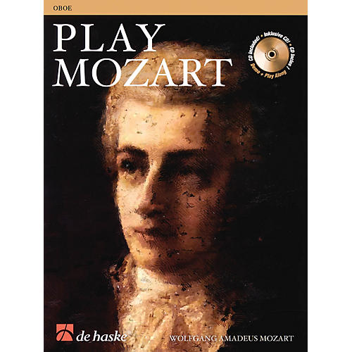 De Haske Music Play Mozart De Haske Play-Along Book Series BK/CD-thumbnail