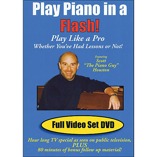 Hal Leonard Play Piano In A Flash Scott Houston Piano Guy DVD