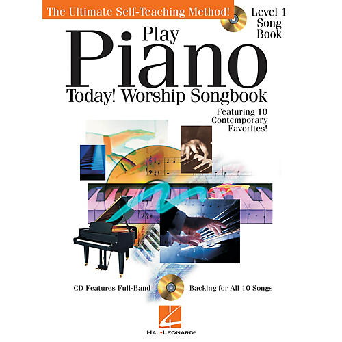 Hal Leonard Play Piano Today! - Worship Songbook Play Today Instructional Series Series Softcover with CD by Various