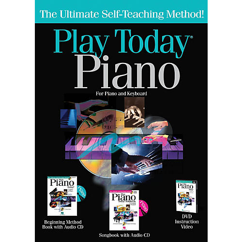 Hal Leonard Play Piano Today! Complete Kit Play Today Instructional Series Series Written by Various-thumbnail