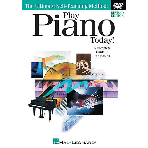 Hal Leonard Play Piano Today! DVD (Revised Edition) DVD Series DVD Written by Amanda McFall-thumbnail