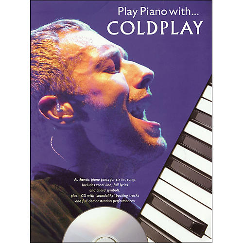 Hal Leonard Play Piano with Coldplay- Book/CD arranged for piano, vocal, and guitar (P/V/G)