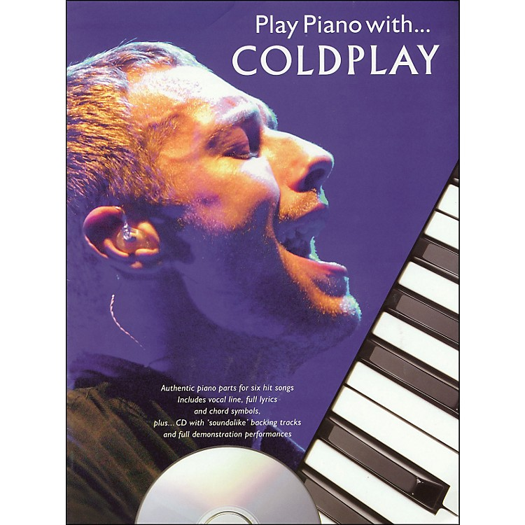 Hal LeonardPlay Piano with Coldplay- Book/CD arranged for piano, vocal, and guitar (P/V/G)