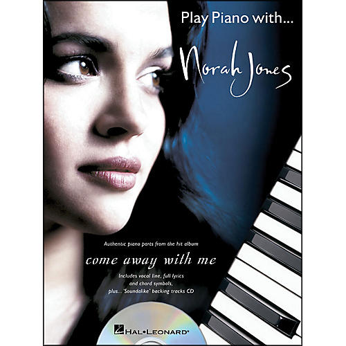 Hal Leonard Play Piano with... Norah Jones (Book/CD) arranged for piano, vocal, and guitar (P/V/G)-thumbnail
