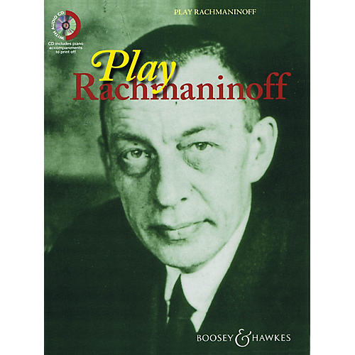 Boosey and Hawkes Play Rachmaninoff Boosey & Hawkes Chamber Music Series Book with CD-thumbnail