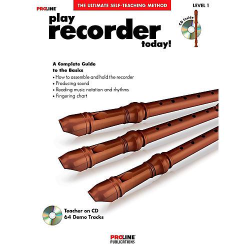Proline Play Recorder Today!  Book/CD-thumbnail