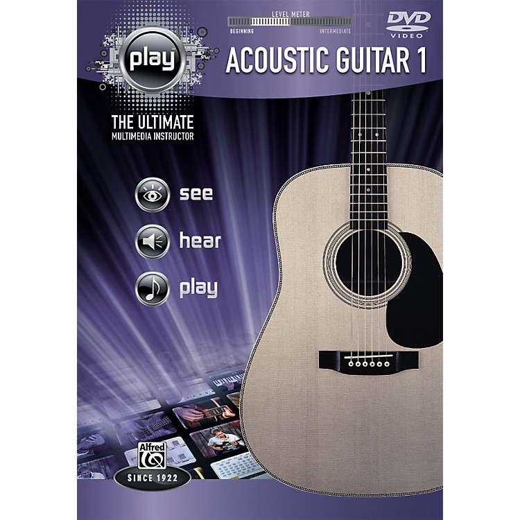 Alfred Play Series Acoustic Guitar 1 (DVD)