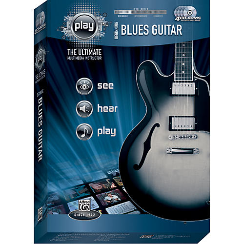 Alfred Play Series Beginning Blues Guitar (CD-ROM)