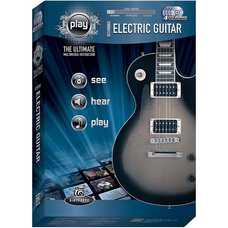 AlfredPlay Series Beginning Electric Guitar (CD-ROM)