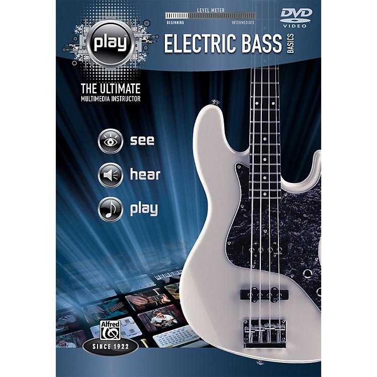 AlfredPlay Series Electric Bass Basics (DVD)