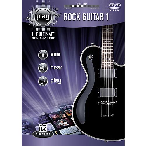 Alfred Play Series Rock Guitar 1 (DVD)