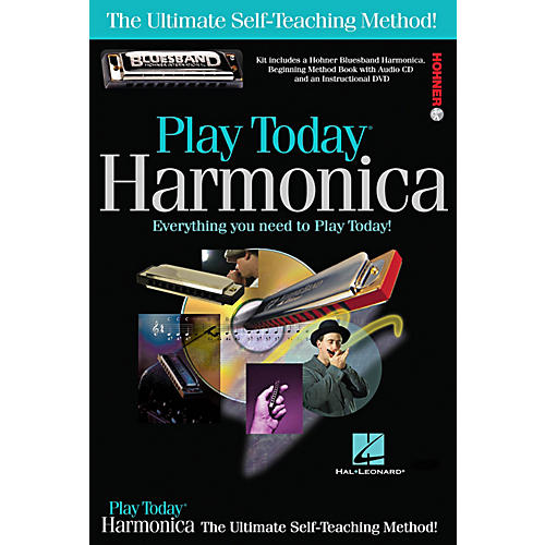 Hal Leonard Play Today Harmonica Complete Kit (Book/CD/DVD/Harmonica)