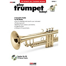 Proline Play Trumpet Today Book/CD