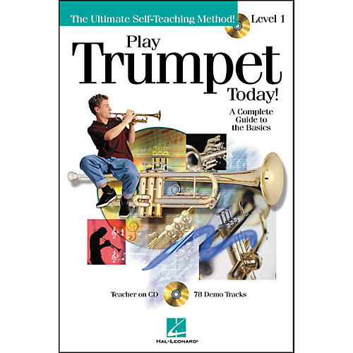 Hal Leonard Play Trumpet Today! Level 1 Book/CD
