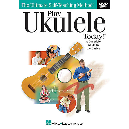 Hal Leonard Play Ukulele Today! (A Complete Guide to the Basics) DVD Series DVD Written by John Nicholson-thumbnail
