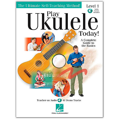 Hal Leonard Play Ukulele Today! Level One Book/CD 9X12-thumbnail