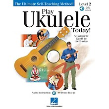 Hal Leonard Play Ukulele Today! Level Two Play Today Instructional Series Softcover Audio Online by John Nicholson