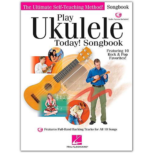 Hal Leonard Play Ukulele Today! Songbook (Book/Online Audio)-thumbnail