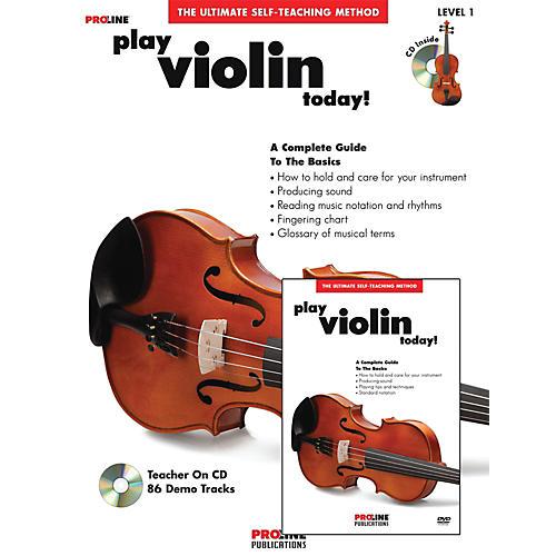 Proline Play Violin Today Beginner's Pack Book/CD/DVD-thumbnail