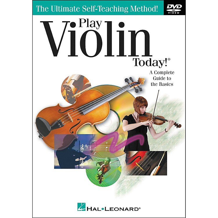 Hal Leonard Play Violin Today! DVD