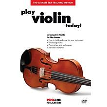Proline Play Violin Today DVD