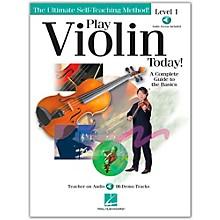 Hal Leonard Play Violin Today! Level 1 (Book/Online Audio)