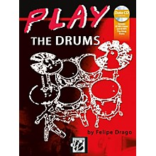 Alfred Play the Drums Book & MP3-MP4 CD Intermediate