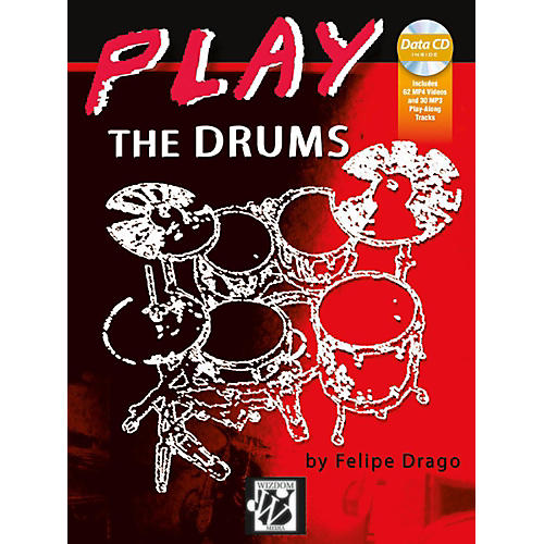 Alfred Play the Drums Book & MP3-MP4 CD Intermediate-thumbnail