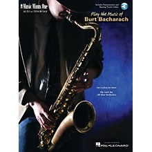 Music Minus One Play the Music of Burt Bacharach Music Minus One Series Book with CD Performed by Tim Gordon