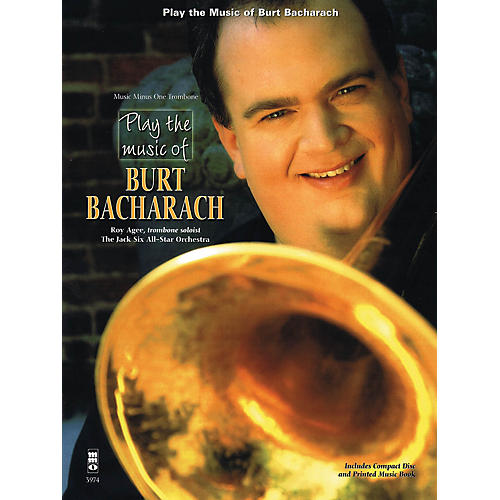 Music Minus One Play the Music of Burt Bacharach (Trombone) Music Minus One Series Softcover with CD by Roy Agee-thumbnail