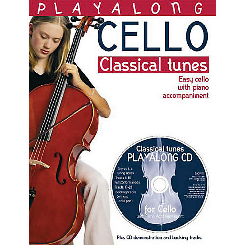 Bosworth Playalong Cello - Classical Tunes Music Sales America Series Softcover with CD